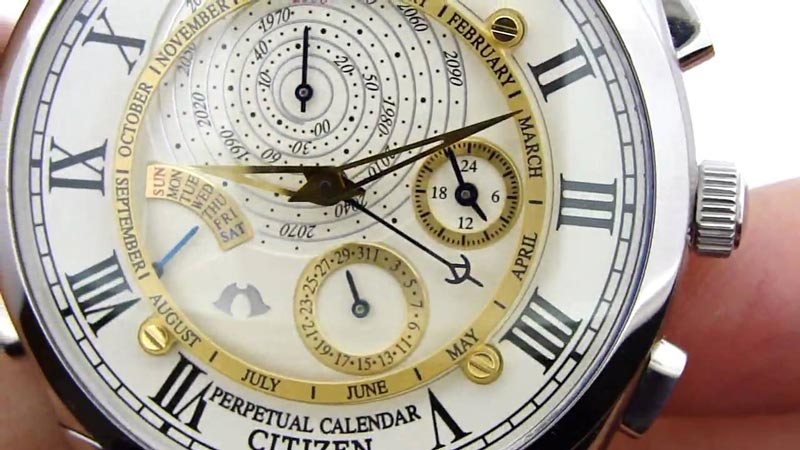 تقویم پرپچوال (Citizen Perpetual Calender Collection)
